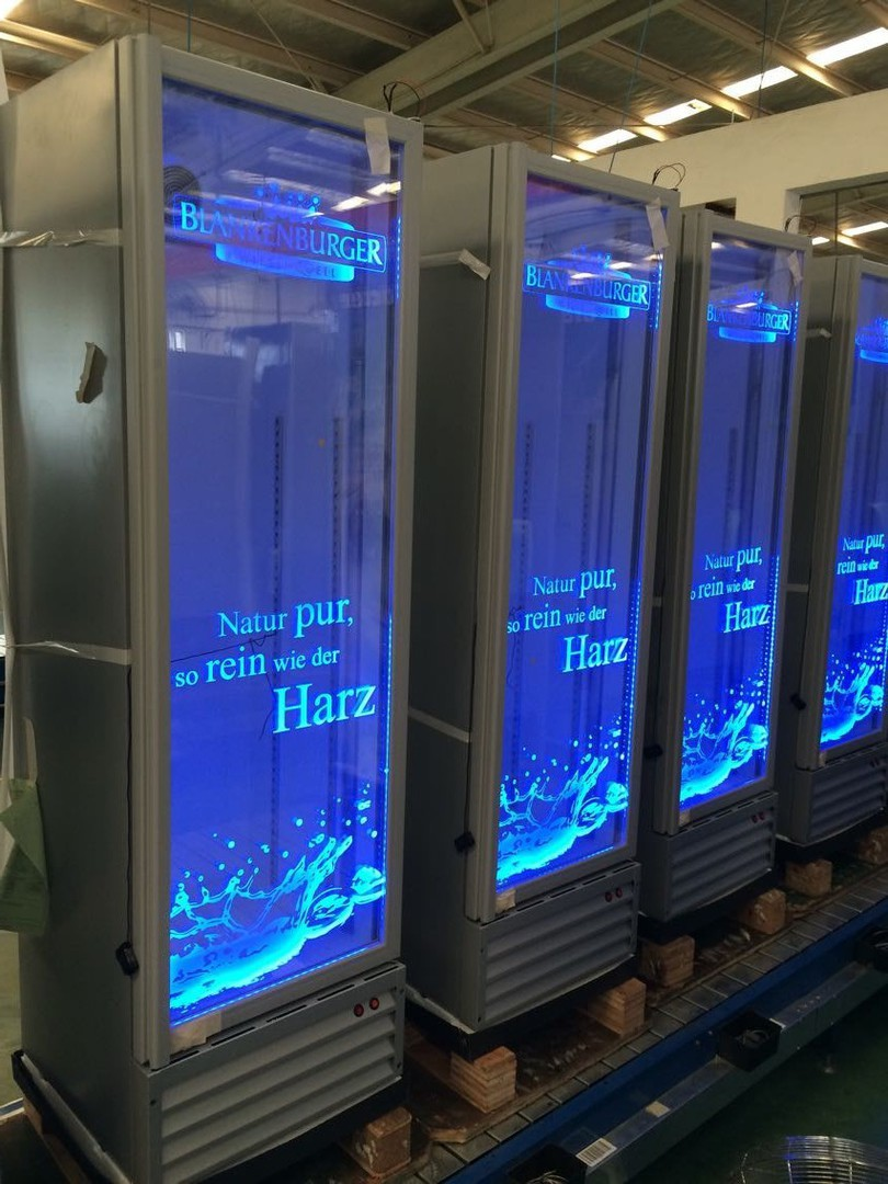 cool promo supply - Neue Generation PCS Kühlgeräte LED Logos / new ...