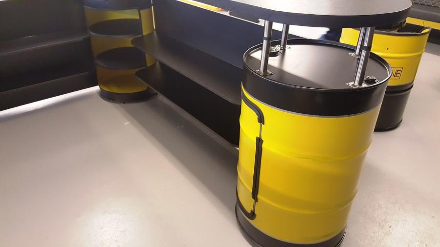 empfangstheke design mit olfassmobel reception counter design within oil barrel furnitures